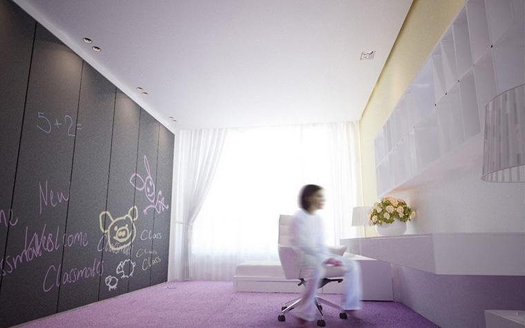 Квартира. детская из проекта , фото №13254