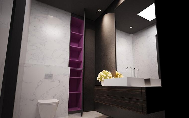 Квартира. ванная из проекта , фото №9103