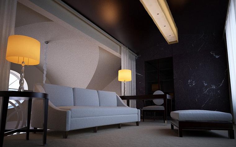 Квартира. гостиная из проекта , фото №9108