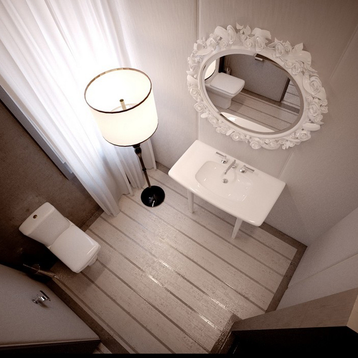 Квартира. санузел из проекта , фото №9112