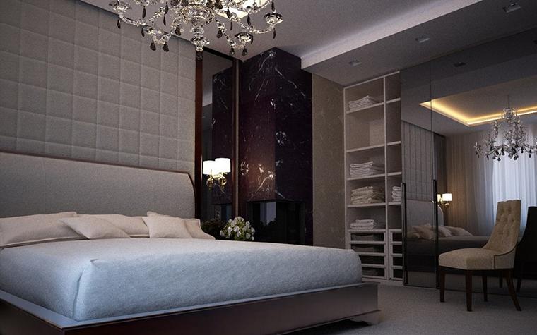 Квартира. спальня из проекта , фото №9109
