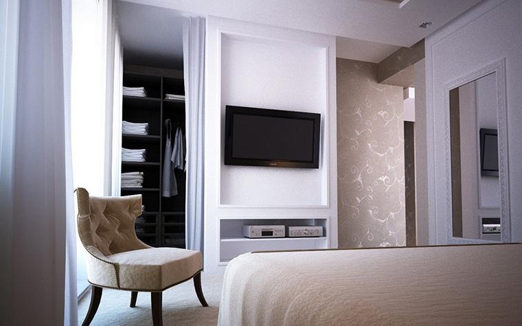 Квартира. спальня из проекта , фото №9111