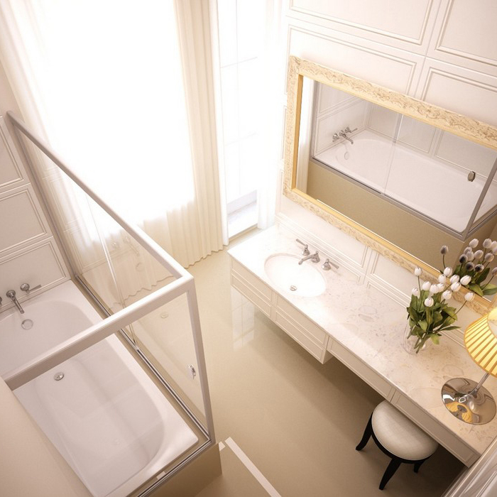 Квартира. ванная из проекта , фото №9113