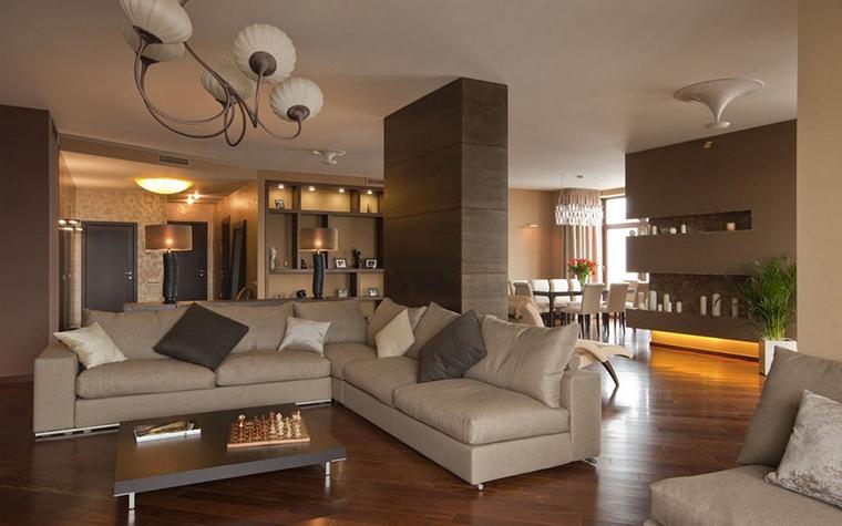 Квартира. гостиная из проекта , фото №9142