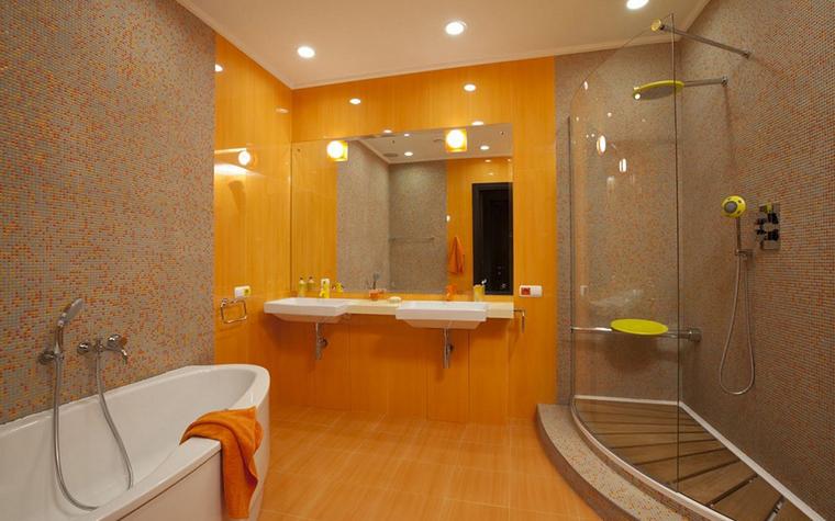 Квартира. ванная из проекта , фото №9152