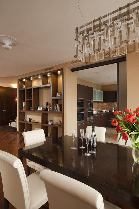 Квартира. столовая из проекта , фото №9227