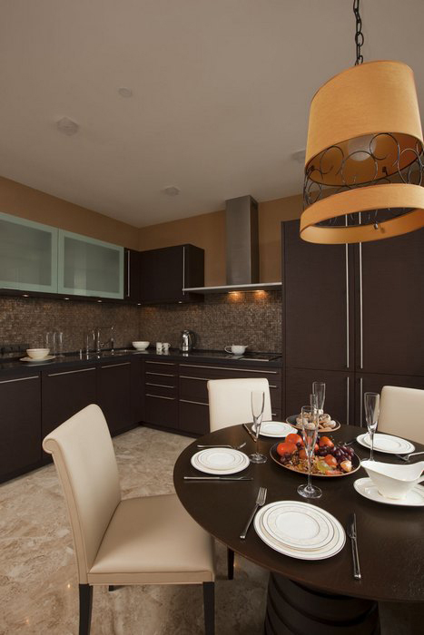 Квартира. кухня из проекта , фото №9228
