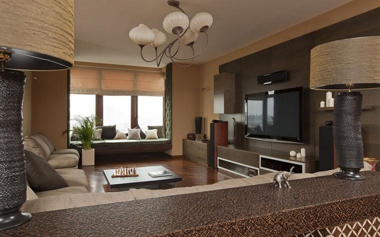 Квартира. гостиная из проекта , фото №9144