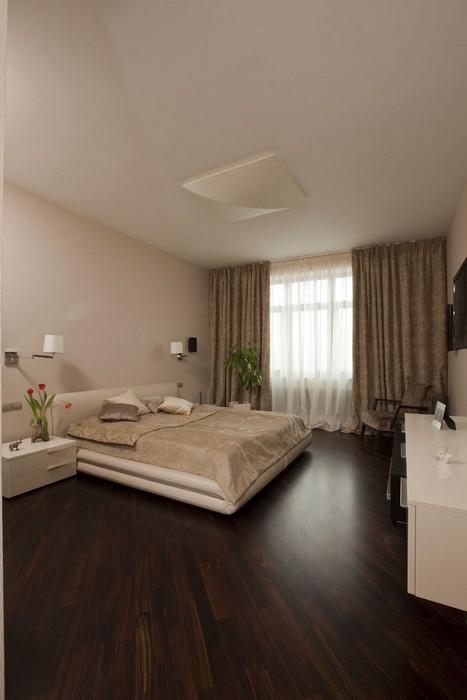 Квартира. спальня из проекта , фото №9149