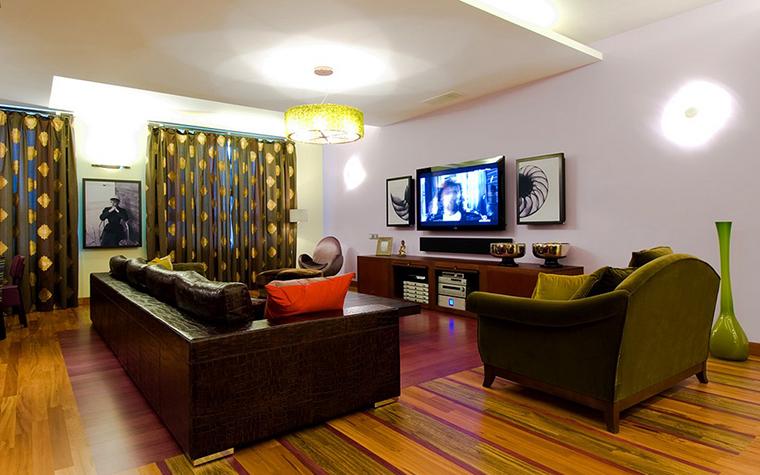 Квартира. гостиная из проекта , фото №9165