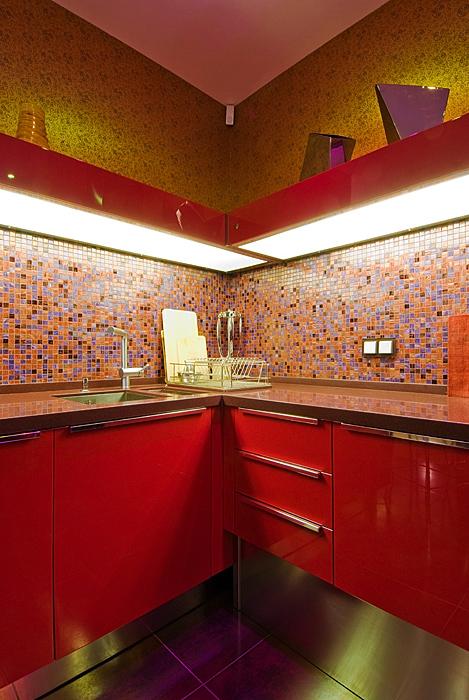 Квартира. кухня из проекта , фото №9172