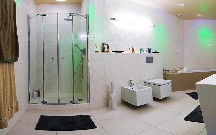 Квартира. ванная из проекта , фото №9177