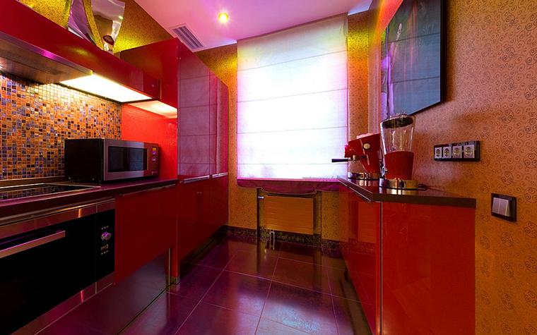 Квартира. кухня из проекта , фото №9169