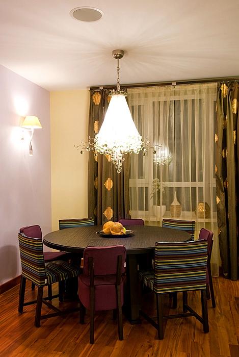 Квартира. столовая из проекта , фото №9174