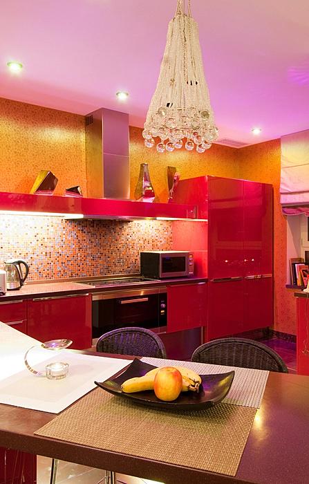 Квартира. кухня из проекта , фото №9171