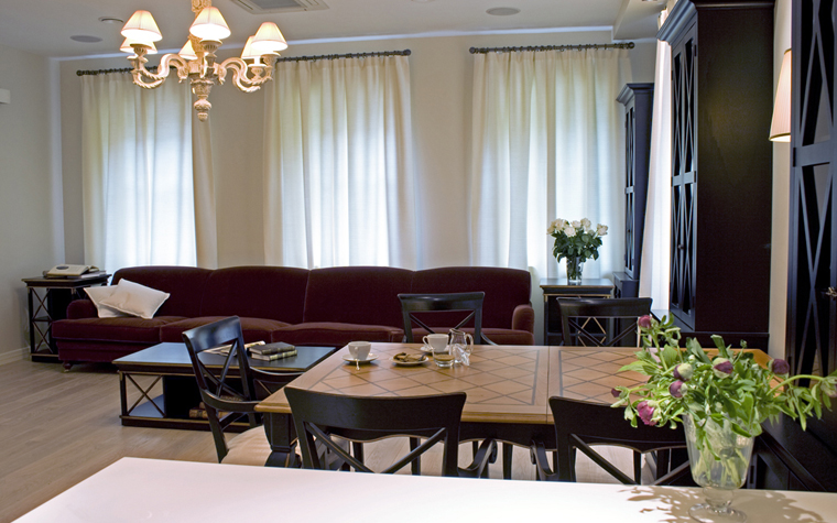 интерьер гостиной - фото № 9181