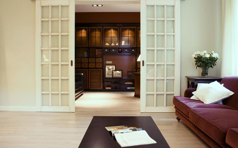 интерьер гостиной - фото № 9182