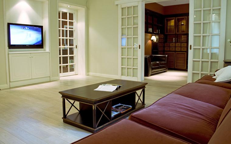 интерьер гостиной - фото № 9183