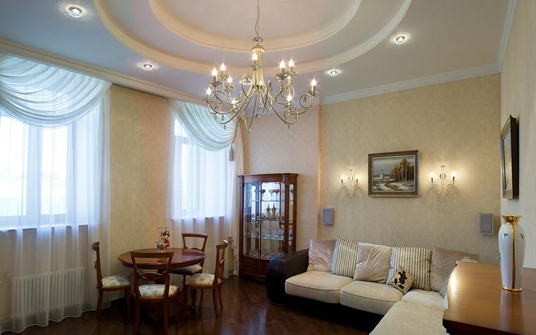 Квартира. гостиная из проекта , фото №9201