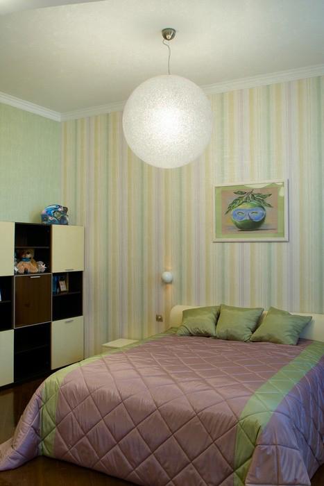 Квартира. спальня из проекта , фото №9203