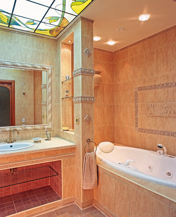 Квартира. ванная из проекта , фото №9234