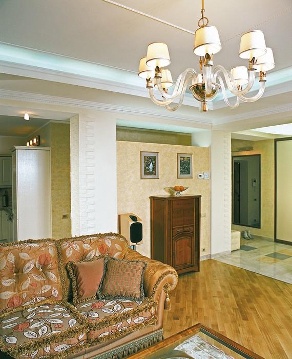 Квартира. гостиная из проекта , фото №9230