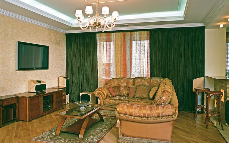 Квартира. гостиная из проекта , фото №9231