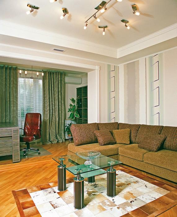 Квартира. гостиная из проекта , фото №9240