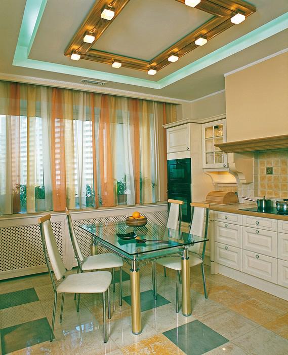 Квартира. кухня из проекта , фото №9237