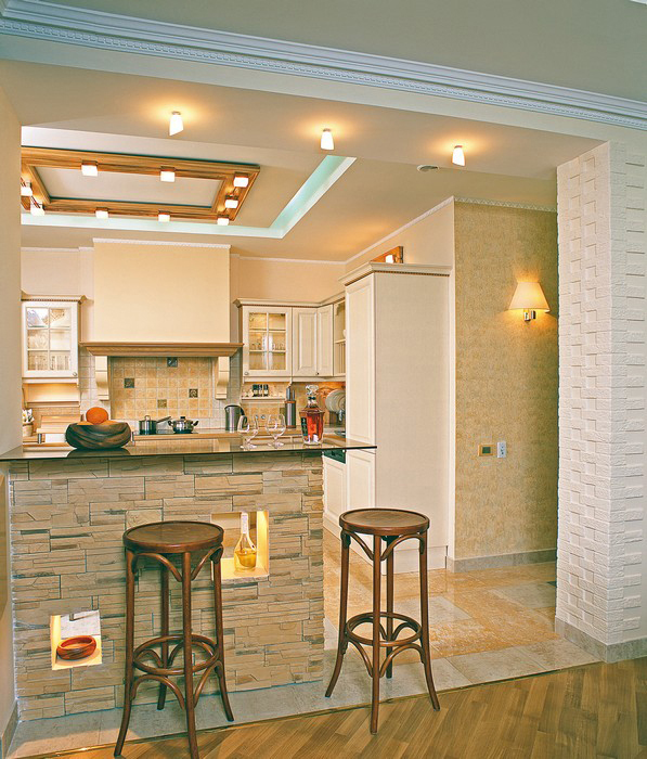 Квартира. кухня из проекта , фото №9238