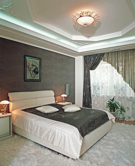 интерьер спальни - фото № 9242