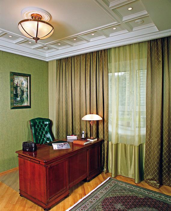 Квартира. кабинет из проекта , фото №9236