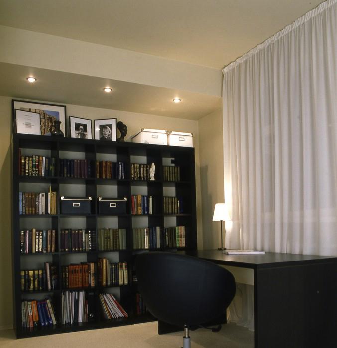 Квартира. кабинет из проекта , фото №9282