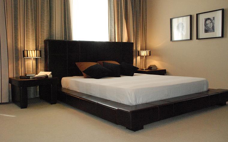 интерьер спальни - фото № 9280