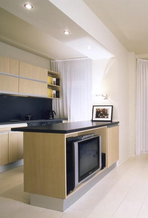 Квартира. кухня из проекта , фото №9285