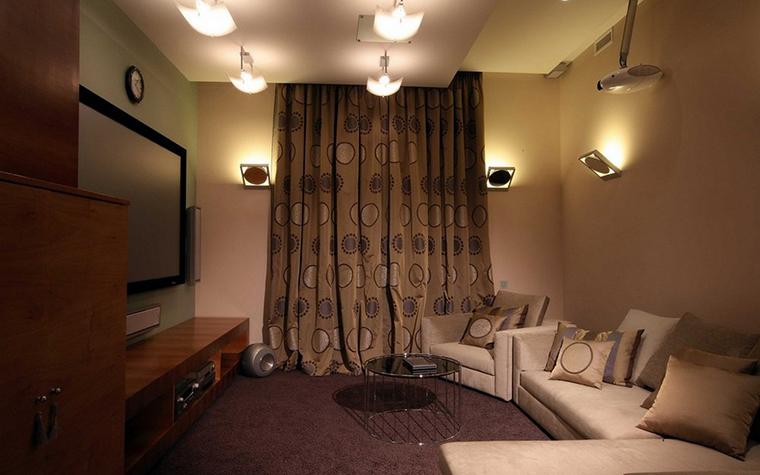 интерьер домашнего кинотеатра - фото № 9298