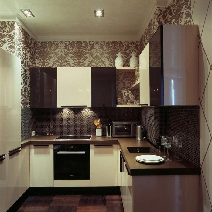 Квартира. кухня из проекта , фото №9616