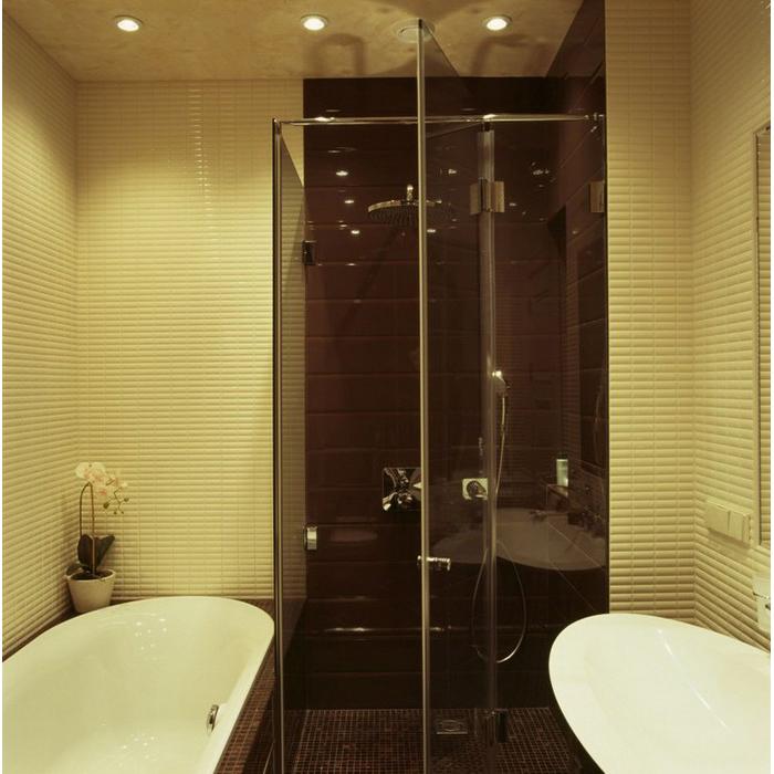 Квартира. ванная из проекта , фото №9628