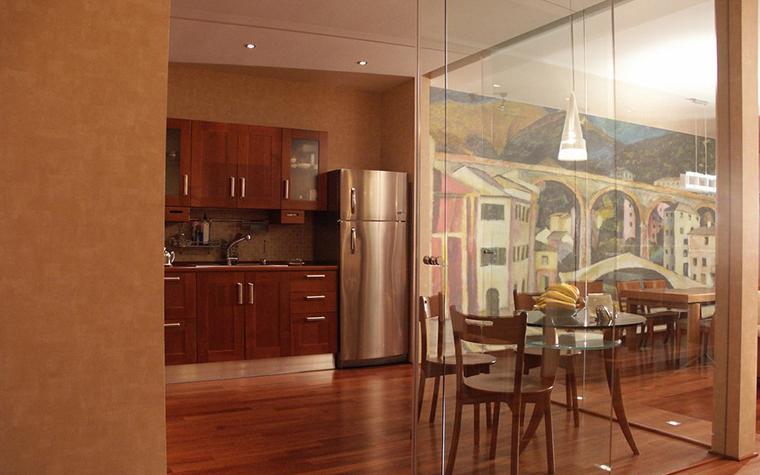 Квартира. кухня из проекта , фото №9651