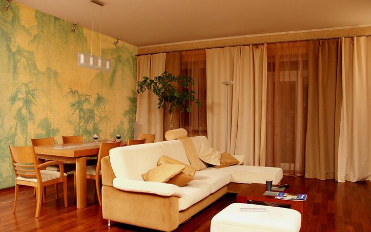 Квартира. гостиная из проекта , фото №9657