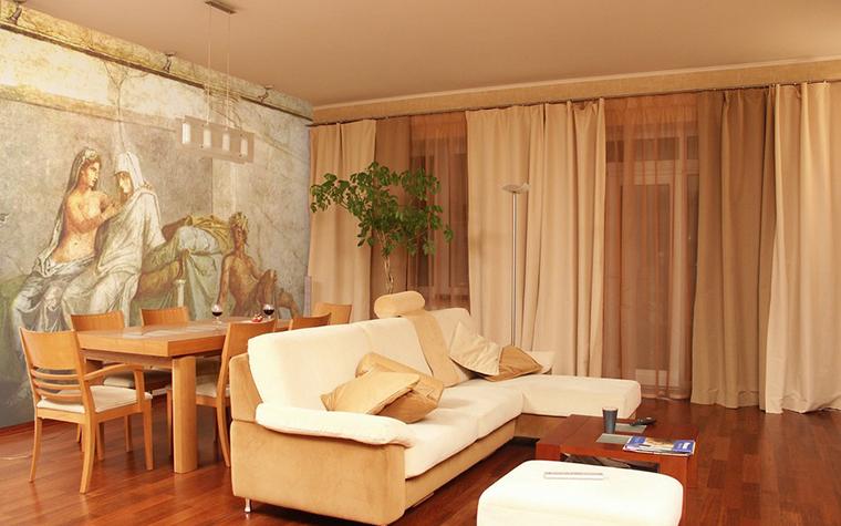 Квартира. гостиная из проекта , фото №9658