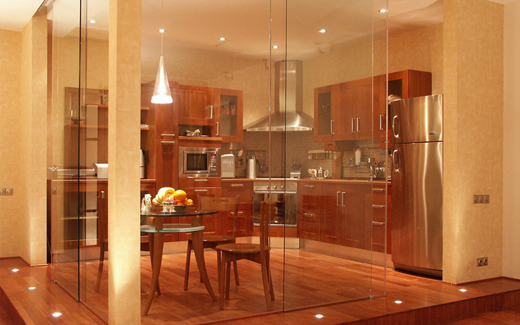 Квартира. кухня из проекта , фото №9650