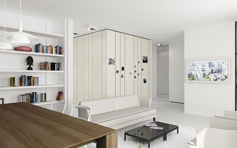 интерьер гостиной - фото № 9697