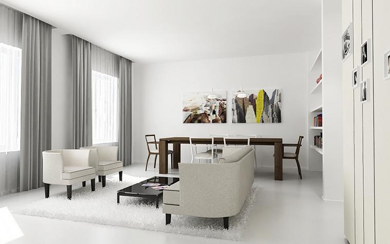 интерьер гостиной - фото № 9698