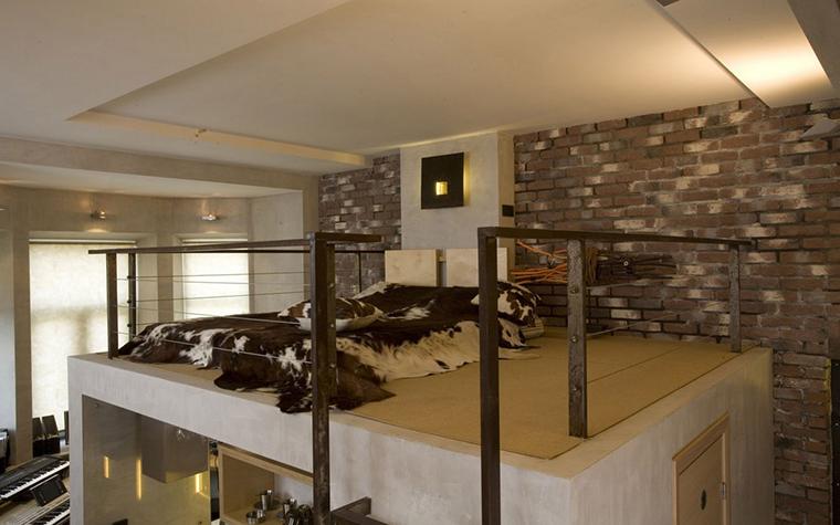 Квартира. спальня из проекта , фото №10021