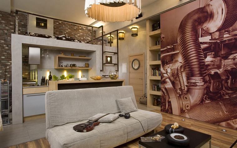 Квартира. гостиная из проекта , фото №10019