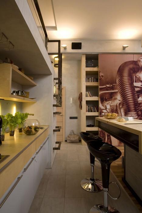 Квартира. кухня из проекта , фото №10025
