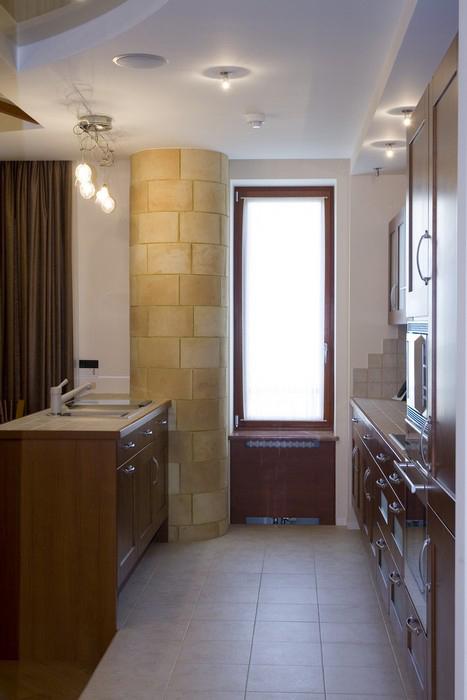 Квартира. кухня из проекта , фото №9873