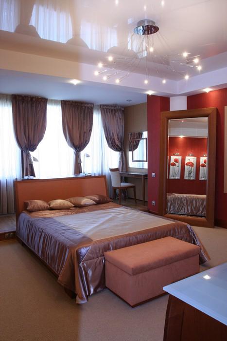 интерьер спальни - фото № 9875