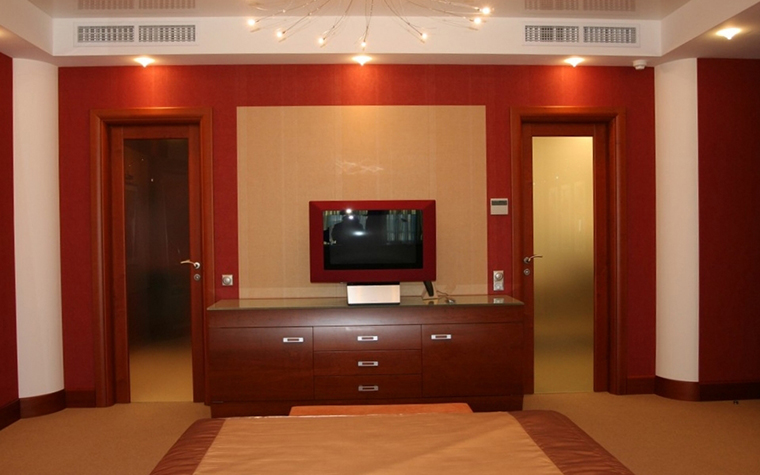 Квартира. спальня из проекта , фото №9877
